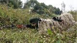"""为期14天的""""携手-2018""""中印陆军反恐联合训练已进入第6天,双方联训由单个课目训练转向战术协同指挥训练。王述东 摄"""