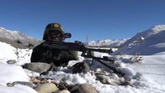 高原冬训 武警特战队员接受极限挑战
