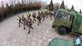该旅组织战备拉动演练,检验应急分队的战备水平。
