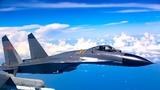 战机执行任务。