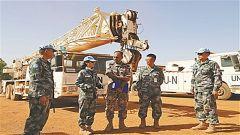 赴马里维和警卫 工兵分队通过综合能力评估