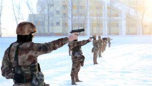 新疆阿勒泰军分区:新年开训 边防部队掀起练兵热潮
