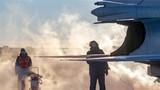 完成机务检查,战机即将进行试车。