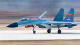 完成第一批对抗空战训练,战机安全着陆。