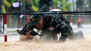 武警三亚支队:百名尖兵同登擂台  展开激烈角逐