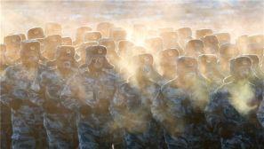 走进空军地导部队 感受冰天雪地里的练兵热情