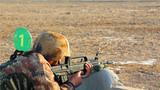 自动步枪精度射击。