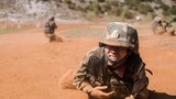 2018年6月,武警大理支队特战官兵在恶劣环境训练。