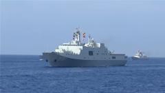 """""""昆仑山""""舰:两栖作战中的重要力量"""