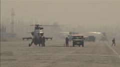 陆军第81集团军某陆航旅:新年首飞突出实战背景