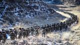30公里徒步行军。