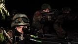 夜间捕歼战斗演练。