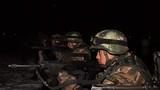 夜间射击训练。