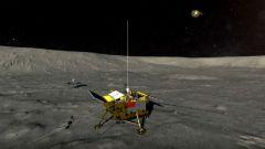 震撼!嫦娥四号落月视频首度公开