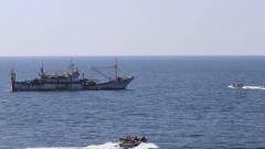 渔民遭重物撞击 海军第31批护航编队紧急救治