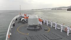 海军第30批护航编队结束对柬埔寨访问