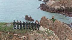 巡逻北礵岛 海防官兵用青春守护边关海疆