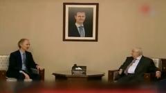 新任联合国叙利亚问题特使首次访叙