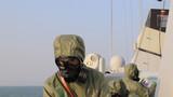 防核生化演练。