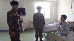 零下20度,老人突然晕倒,武警官兵紧急救助