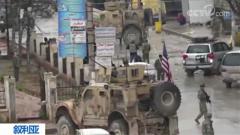 叙利亚北部城市曼比季发生爆炸袭击