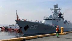 中国海军第30批护航编队访问菲律宾