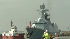 海军第30批护航编队访问菲律宾