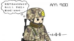 萌漫丨军营细微时刻暖兵心