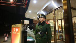 福建武警安保执勤剪影:时刻准备战斗 时刻都在战斗