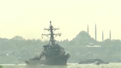 美舰再次驶入黑海 俄军密切监控