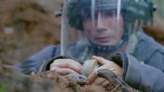 【第一军视】中越边境雷区再出险情 眼镜蛇从排雷战士手边爬过