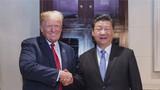 2018年12月1日,国家主席习近平应邀同美国总统特朗普在阿根廷布宜诺斯艾利斯共进晚餐,举行会晤。新华社记者 李学仁 摄
