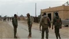 叙利亚库尔德武装基本攻下极端组织最后地盘