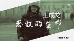 《军旅人生》 20190128 王成龙:怒放的生命