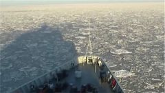 直击黄渤海冰情调查行动