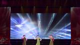 女声表演唱《坑道彩虹》。