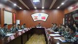 维和官兵传达学习上级春节慰问信,激发大家工作热情。