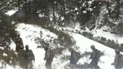 西藏山南:边防军人用脚步丈量祖国边防线