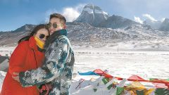 海拔4900米的雪山阵地上一场别样的婚礼