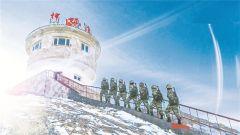 神仙湾边防连:战备巡逻越冰川