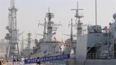 """""""和平-19""""多国海军联合军事演习开幕"""