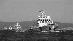 中国海警官兵:踏浪巡航万里海疆