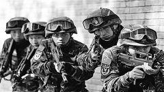 武警猎鹰突击队队员:时刻保持战斗姿态