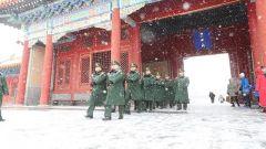 北京下雪了 最美的风景是他们