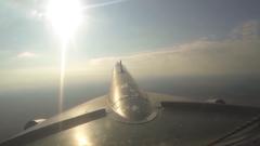 俄证实日本战机伴飞俄图-95MS轰炸机