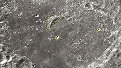 """月球上已有27个中国名字 """"嫦娥""""落月处叫""""天河"""""""