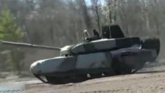 俄公布新型T-90M坦克测试视频 内部加装空调