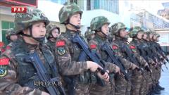 贵州武警开展城市反劫持演练
