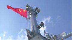 南海海域 海军某护卫舰支队实弹射击演练