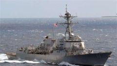 美军舰连续两个月擅闯敏感海域 施压中国